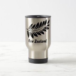 Fern leaf travel mug
