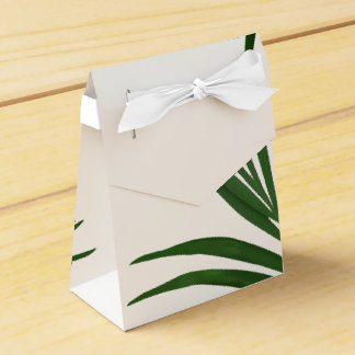Fern Leaves Tropical Favor Box