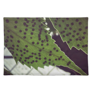 fern placemat
