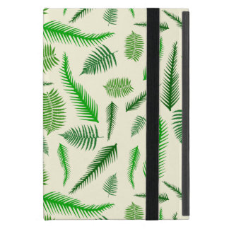 Fern Plant Frond Leaves Pattern iPad Mini Case