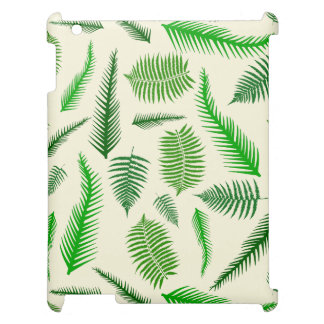 Fern Plant Frond Leaves Pattern Cover For The iPad 2 3 4