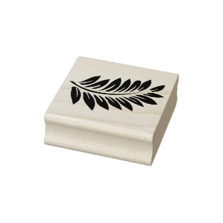 Fern Rubber Stamp