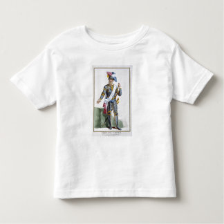 Fernand Cortez (1485-1547), engraved by Pierre Duf Toddler T-Shirt