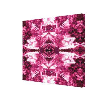 Ferns 2D Fractal Canvas Print