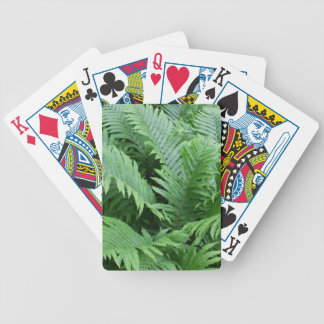 Ferns I Bicycle Playing Cards