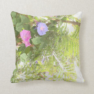 Ferns & Morning Glory Pillow