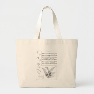 Ferns Song with Finger Play Jumbo Tote Bag