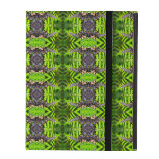 Ferny Photographic Repeat Pattern ipad Case