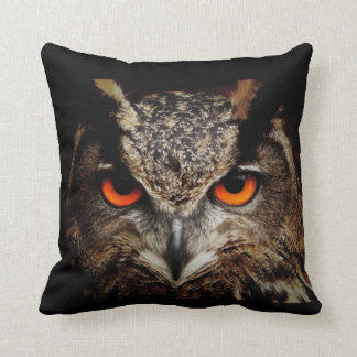 Ferocious Owl Cushion