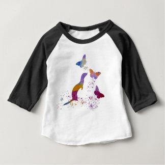 Ferret and buttterflies baby T-Shirt