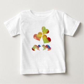 Ferret art baby T-Shirt