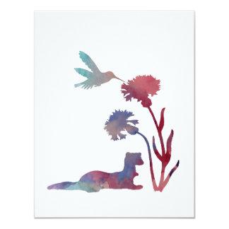 Ferret Art Card