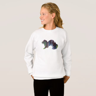 Ferret art sweatshirt