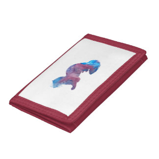 Ferret Art Trifold Wallets
