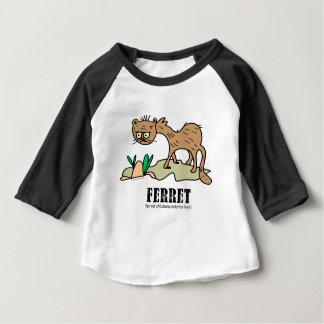 Ferret by Lorenzo © 2018 Lorenzo Traverso Baby T-Shirt
