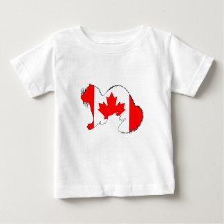 Ferret Canada Baby T-Shirt