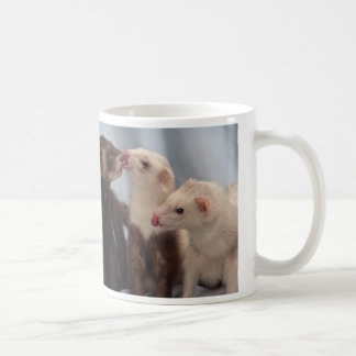 Ferret Kisses Coffee Mug