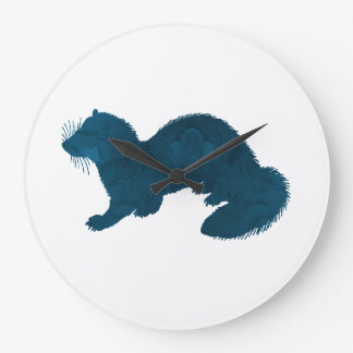Ferret Large Clock