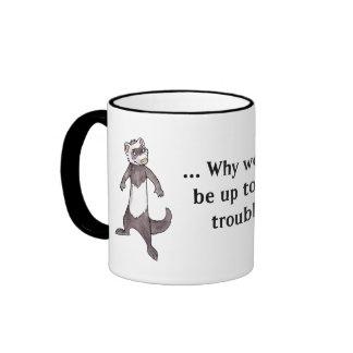 Ferret Ringer Mug