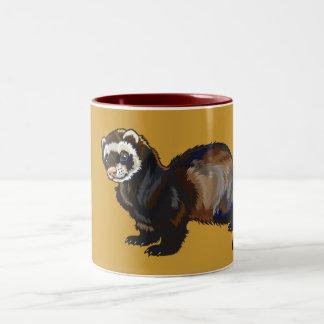 ferret Two-Tone mug
