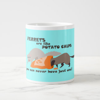 Ferrets are like Potato Chips Mug