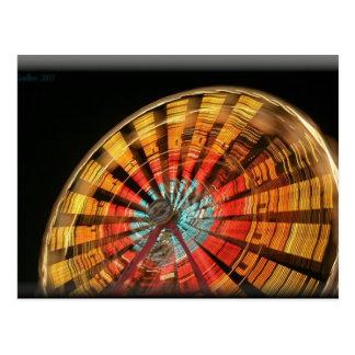 ferris wheel 10 2007 postcard