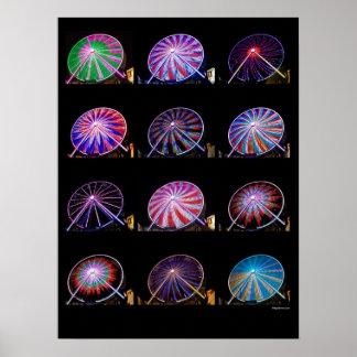 Ferris Wheel 18X24 Poster