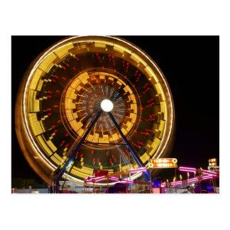 Ferris Wheel 2 Post Card