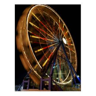 Ferris Wheel 3 Post Card