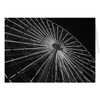Ferris Wheel B&W Cards