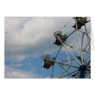 """""""ferris wheel"""" by Larry Coressel Card"""