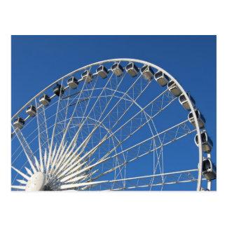 Ferris Wheel Cars Post Cards