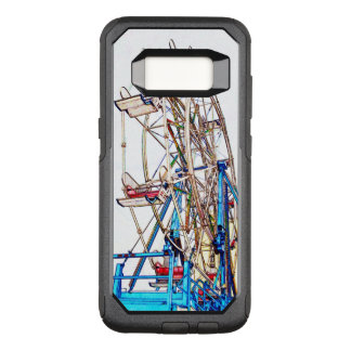 Ferris Wheel-Chalk Outline by Shirley Taylor OtterBox Commuter Samsung Galaxy S8 Case