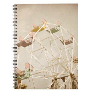 Ferris wheel child size notebook