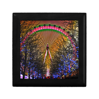 Ferris Wheel Christmas Lights Gift Box