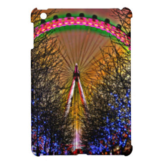Ferris Wheel Christmas Lights iPad Mini Cover