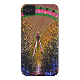 Ferris Wheel Christmas Lights iPhone 4 Cover
