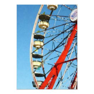 Ferris Wheel Closeup Personalized Invite