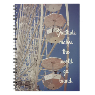 Ferris Wheel Gratitude Journal Note Books