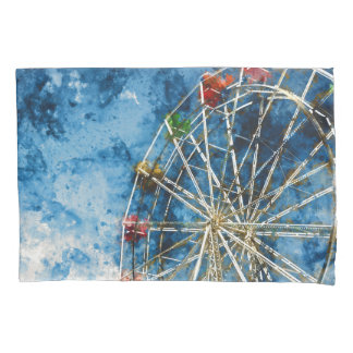Ferris Wheel in Santa Cruz California Pillowcase