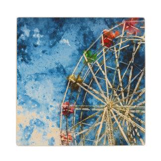 Ferris Wheel in Santa Cruz California Wood Coaster