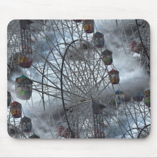 Ferris Wheel in the Clouds Mouse Pad