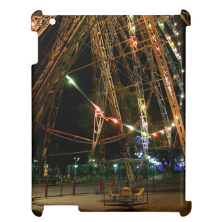 Ferris Wheel in Turkmenistan: Cool Vintage Photo Case For The iPad