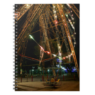 Ferris Wheel in Turkmenistan: Cool Vintage Photo Spiral Note Books