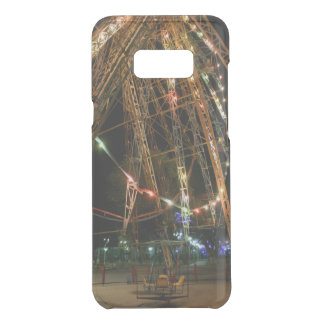 Ferris Wheel in Turkmenistan: Cool Vintage Photo Uncommon Samsung Galaxy S8 Plus Case