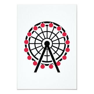 Ferris wheel announcements
