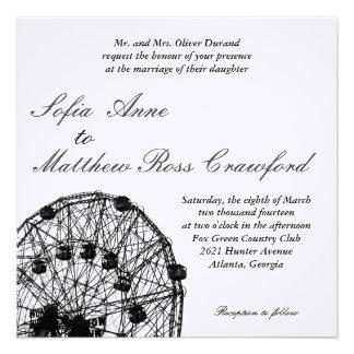 Ferris Wheel Custom Invite