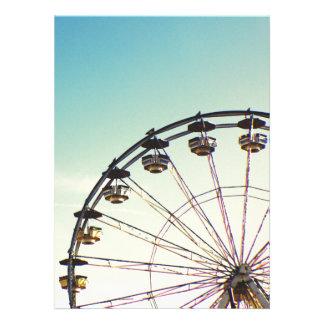 Ferris Wheel Personalized Invite
