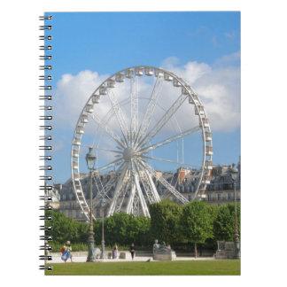 Ferris wheel notebooks