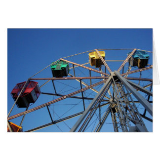 Ferris Wheel notecard Card
